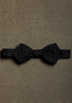 Gatsby clothing for men - Brooks Brothers - menswear from the 1920s bow tie MA01273_BLACK_G.jpg